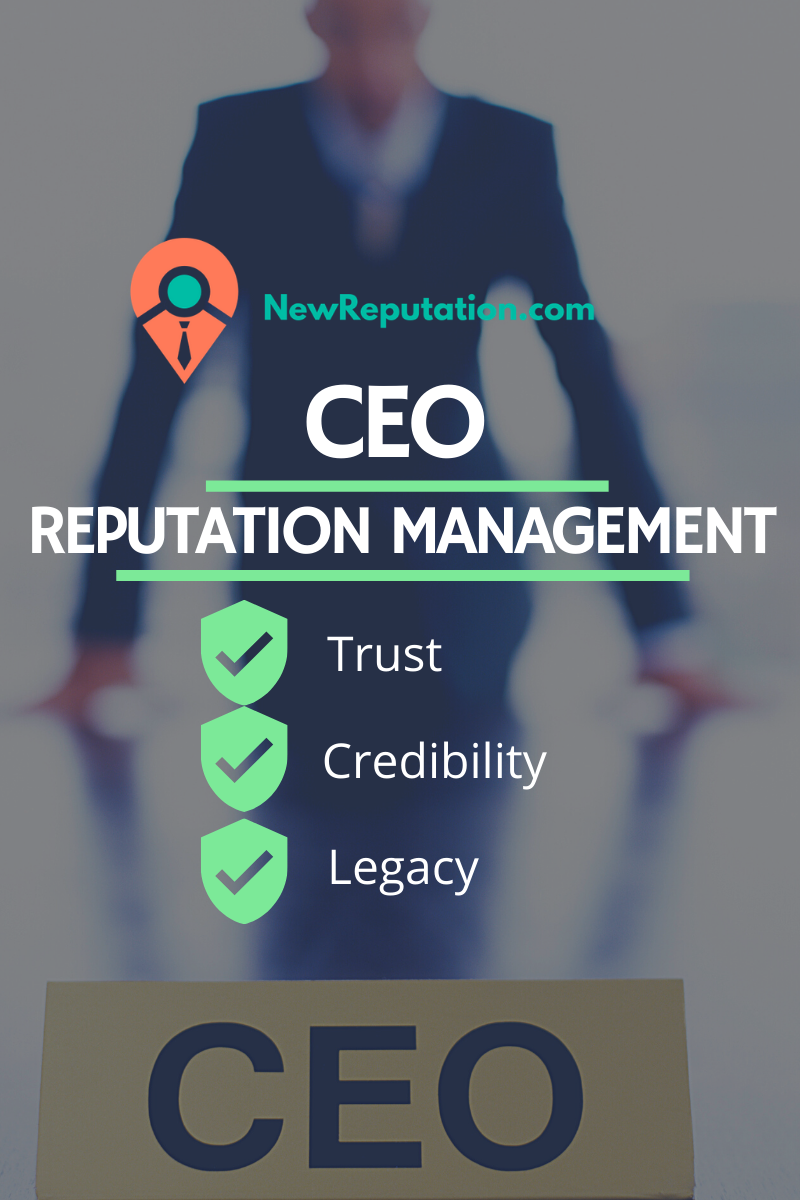 Reputation management for CEOs