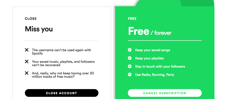 delete spotify
