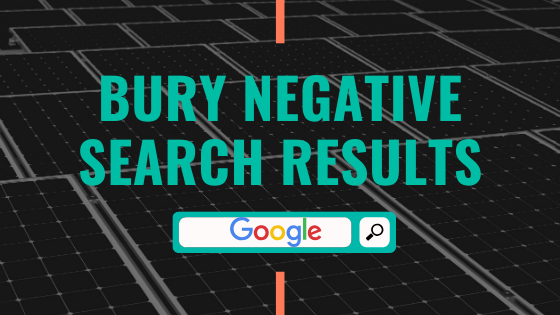 Bury Negative Search Results
