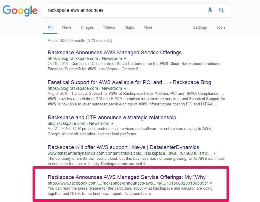 how to reach the first page of google