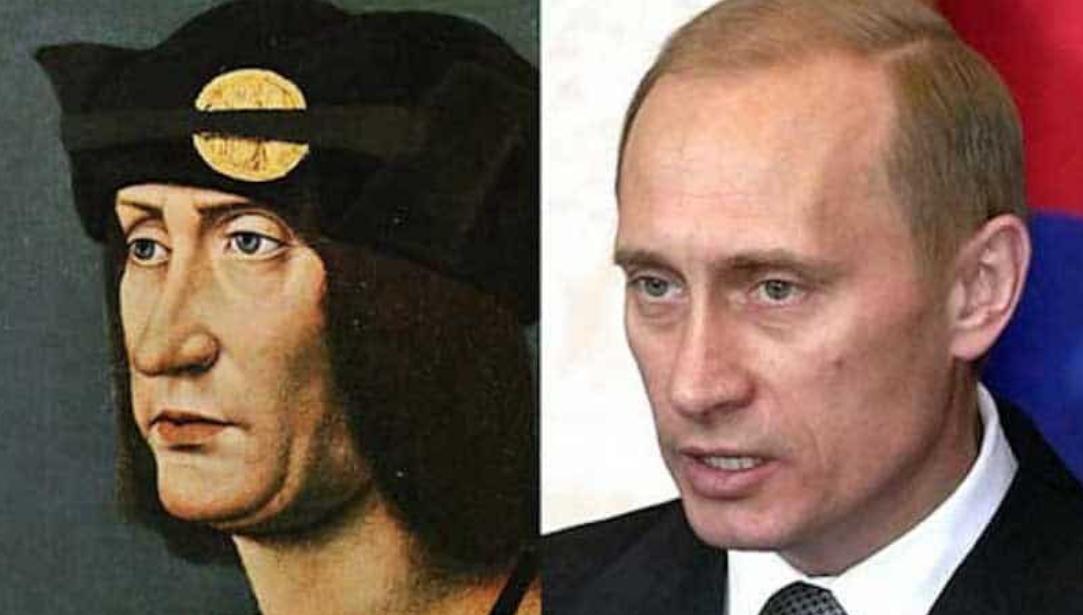 Vladamir Putin and his Doppelgänger